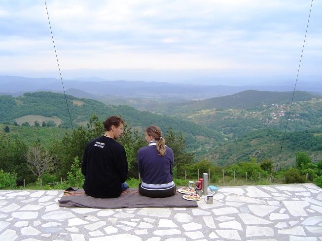 Uitzichtpunt slaapplaats Bulgarije